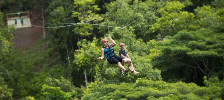 Zipline Kauai